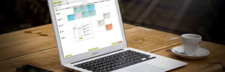 Bild ShiftJuggler Dienstplan-Software auf Mac